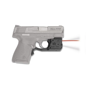 Crimson Trace Laserguard Shield Pro Laser Sight S&W M&P Polymer Black