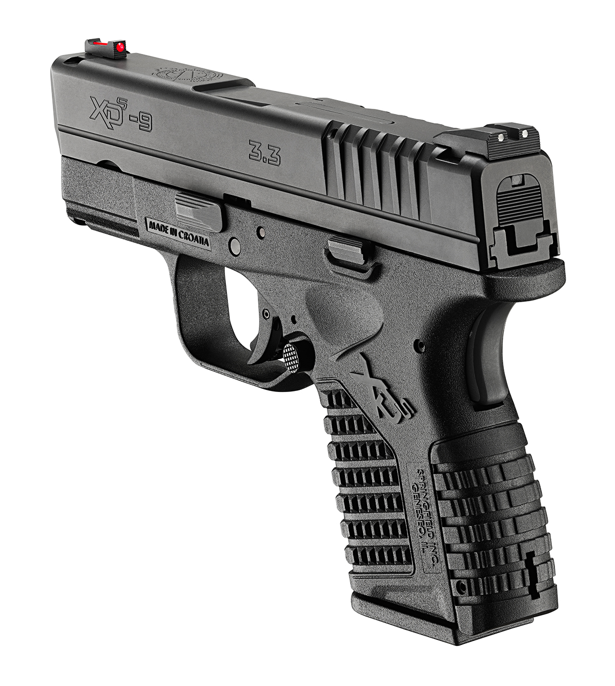 Springfield XDS rear side view