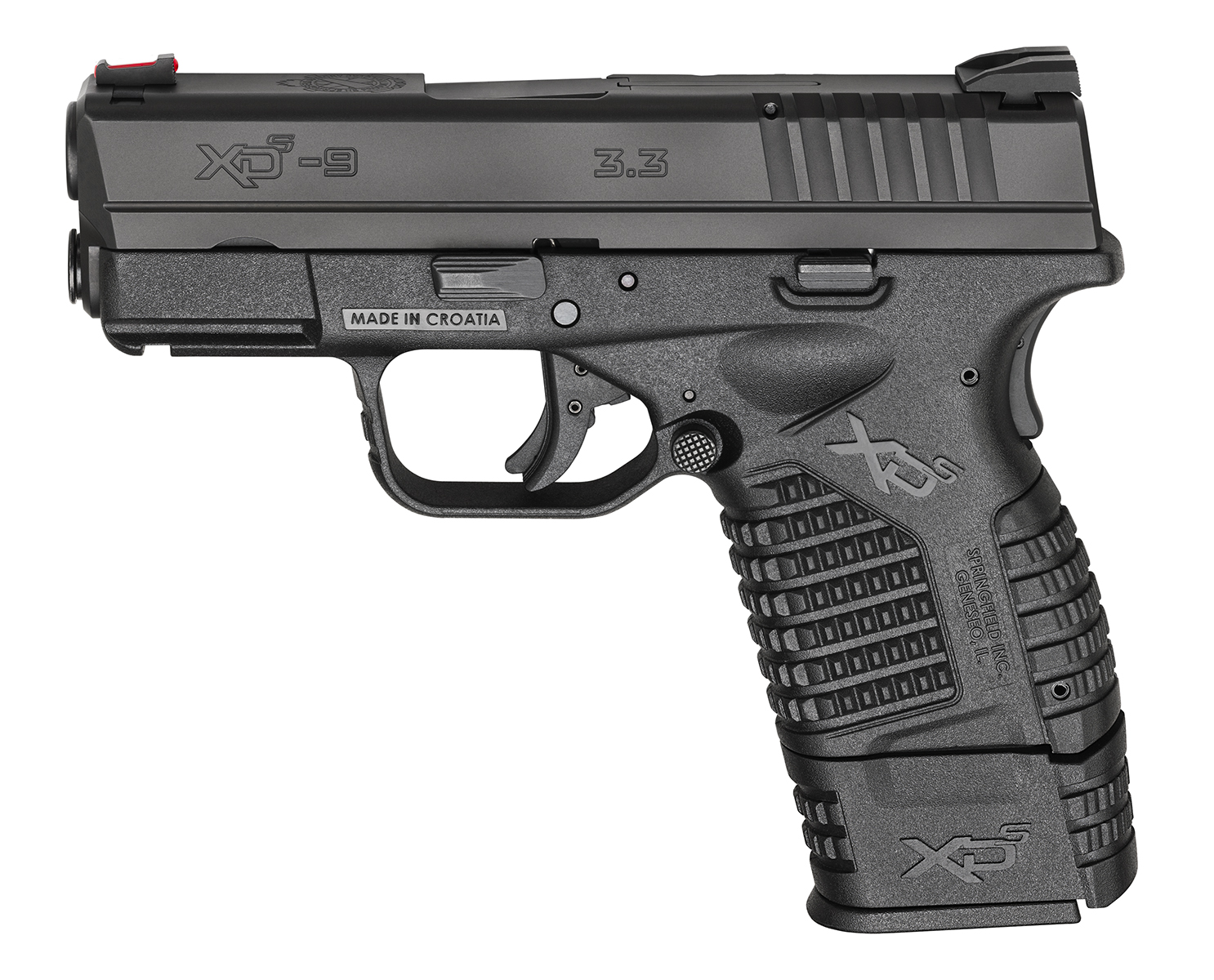 Springfield XDS black side view