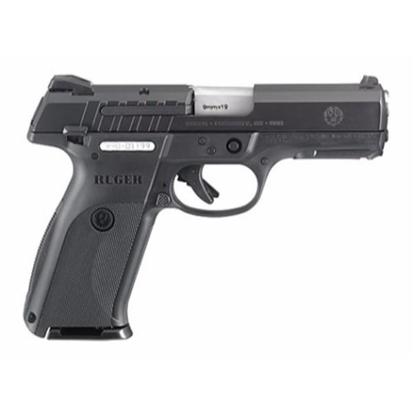 "Ruger 9E Semi Auto Pistol 9mm 4.14"" Barrel 17 Rounds Black"