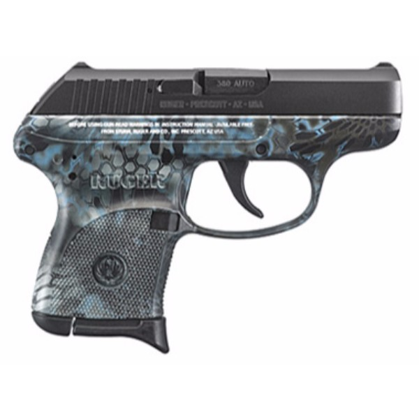 Ruger LCP Kryptek Neptune Pistol