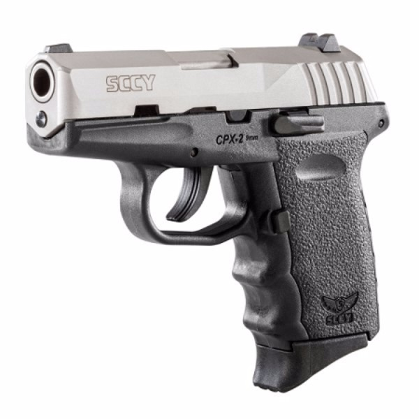 SCCY CPX-2 Black & Stainless Pistol