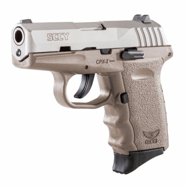 SCCY CPX-2 FDE w/ stainless slide pistol