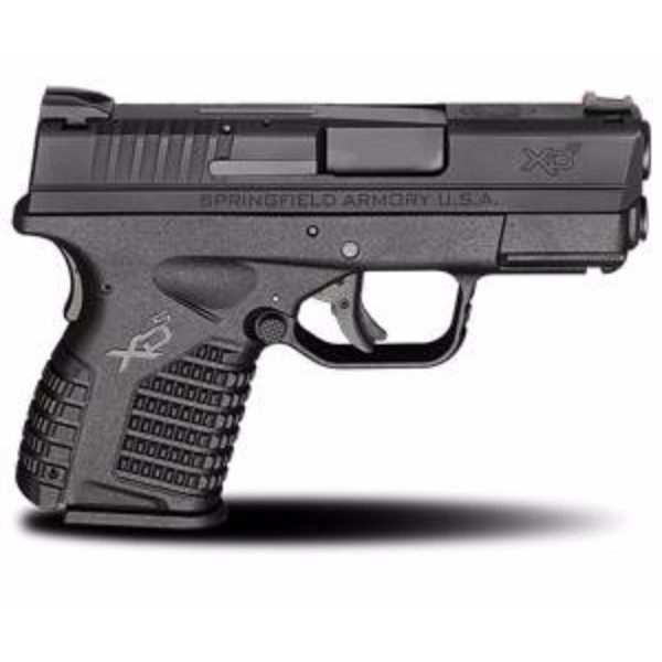 Springfield XDS black 9mm side view