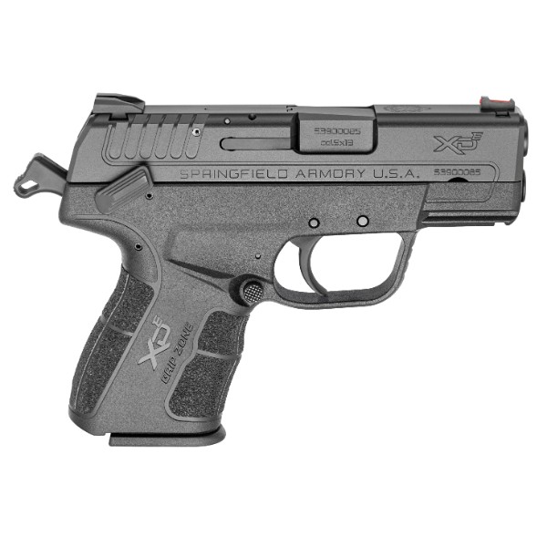 Springfield Armory XD-E Cocked Black