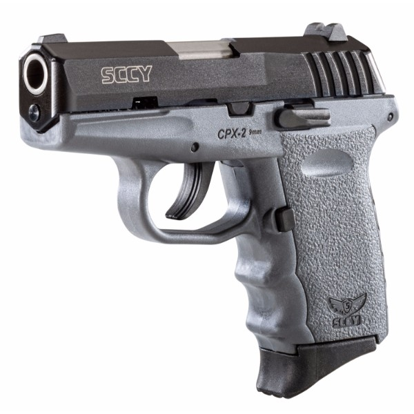 SCCY CPX-2 Grey & Black Slide 9mm pistol
