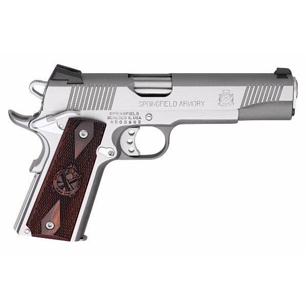 Springfield Armory 1911 Stainless Loaded .45ACP Pistol