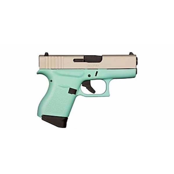 Glock 43 Robins Egg Blue 9mm Pistol