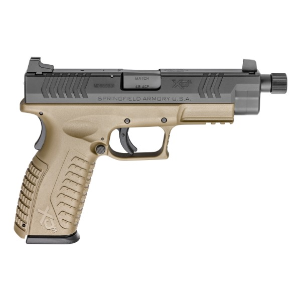 Springfield Armory XDM Threaded Barrel FDE Pistol