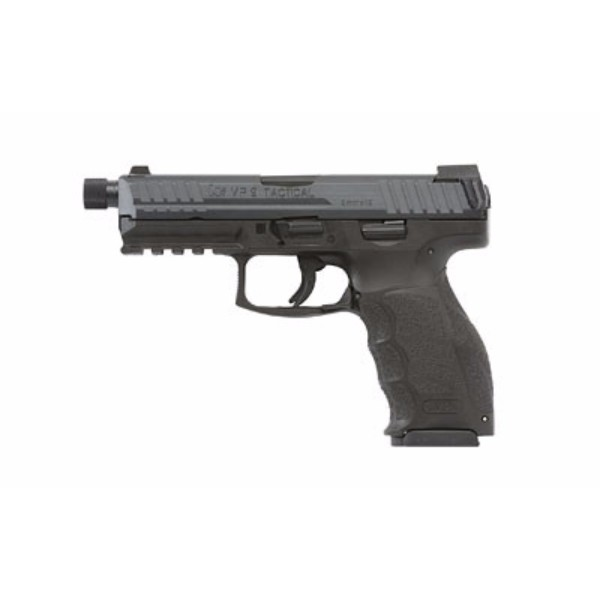 HK VP40 Tactical Threaded Black Pistol