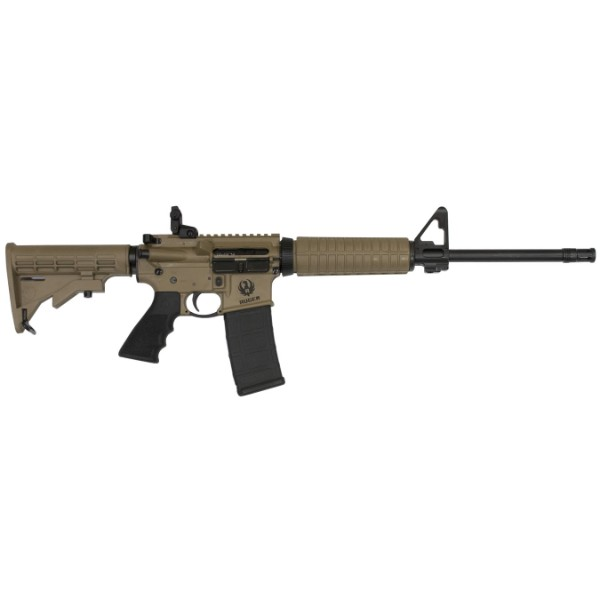 Ruger AR556 Barrett Brown Rifle