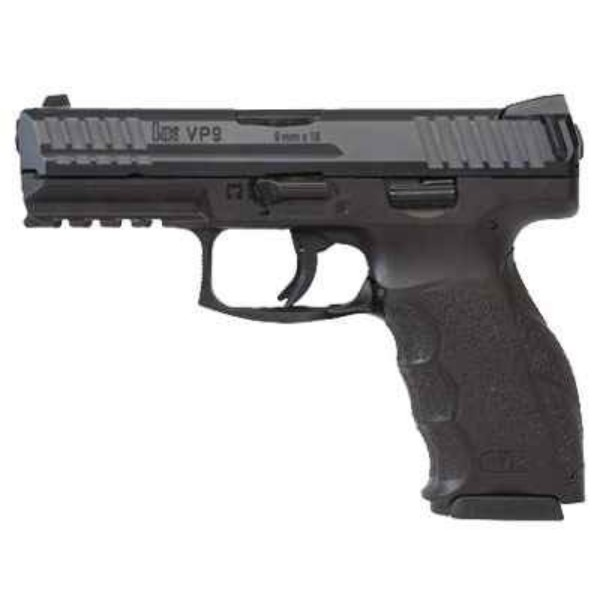HK VP9 Black 9mm Pistol
