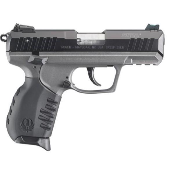 Ruger Sr22 Grey Frame Pistol