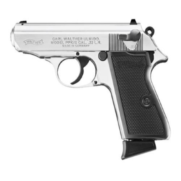 Walther PPK/S Nickel Plated Pistol
