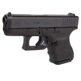 Glock 26 Gen4 black pistol