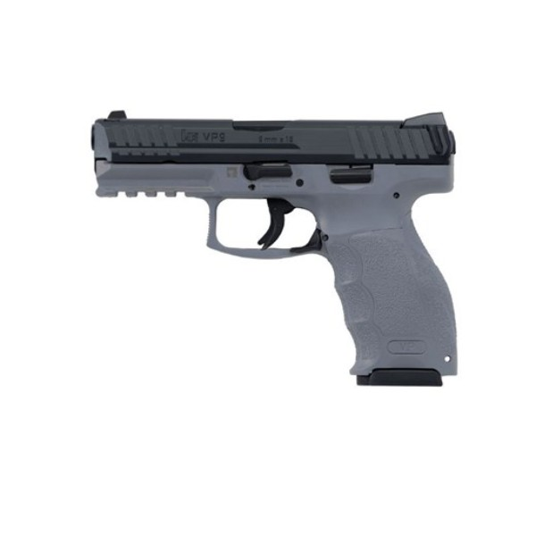 HK VP9 Grey 9mm pistol