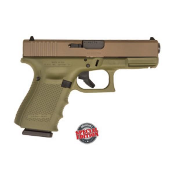 Glock 19 G4 Bazooka Green PIstol
