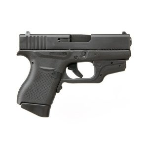 Glock 43 9mm black CTC laser pistol