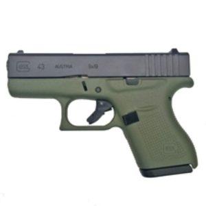 glock 43 Battlefield Green Pistol