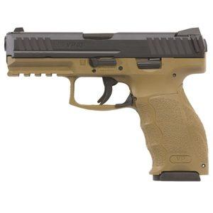 HK VP40 FDE pistol