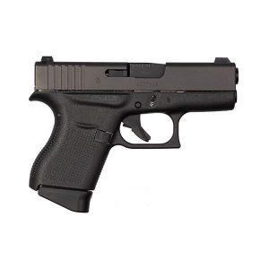 GLOCK 43 Night Sights Black 9MM 6+1 3.39 GNS Pistol