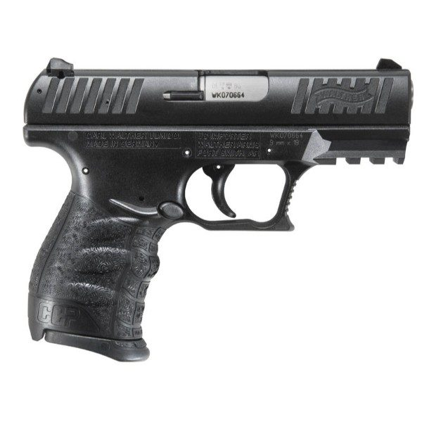 Walther CCP Black 9mm pistol