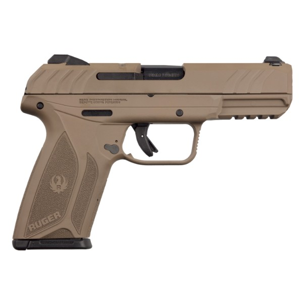 Ruger Security 9 Barrett Brown Pistol