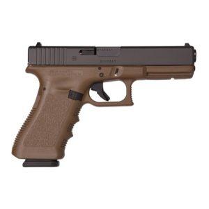 Glock 17 FDE Gen 3 Pistol