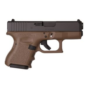 Glock 26 Flat Dark Earth 9mm PIstol