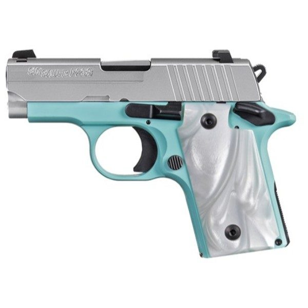 Sig Sauer P238 Robins Egg Pistol