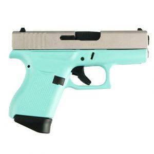 Glock 43 Robins Egg Blue USA Pistol