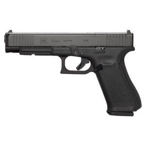 Glock 34 Gen5 MOS Black Pistol