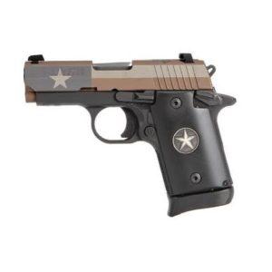 SIG SAUER P938 TEXAS FLAG 9mm Pistol