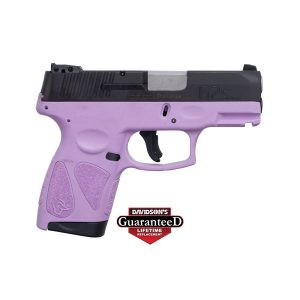 TAURUS G2S Light Purple Black Slide 9MM 7 Round Pistol