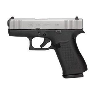 GLOCK 43X AMERIGLO SILVER 9MM 10 Round Pistol