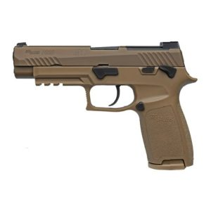SIG SAUER P320 M17 9MM MANUAL SAFETY PISTOL