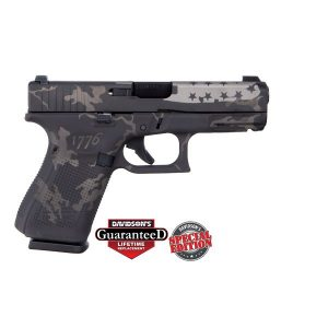 Glock 19 1776 Gen5 USA Black & Grey Camo 9mm Pistol