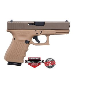 GLOCK 19 GEN4 PATRIOT BROWN 9MM 15ROUND PISTOL CKPBDDE