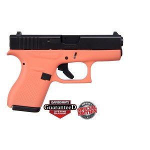 Glock 42 Coral w/ Black Slide Special Edition .380 ACP Pistol