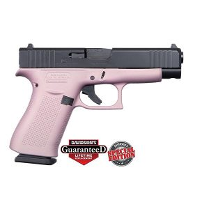 GLOCK 48 PINK w/ BLACK SLIDE USA 9MM PISTOL