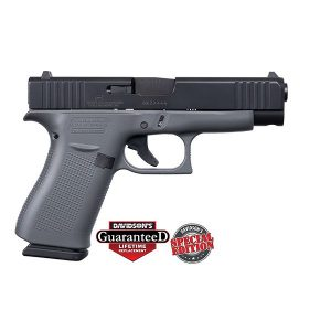 GLOCK 48 GREY CONCRETE ELITE BLACK 9MM PISTOL
