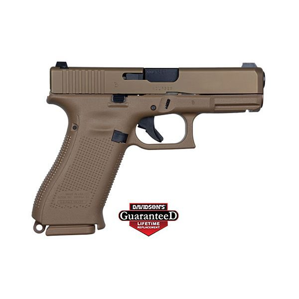 GLOCK 19X FDE 9mm 17 round Crossover Pistol