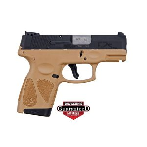 TAURUS G2S TAN SLIM 7 ROUND 9MM PISTOL