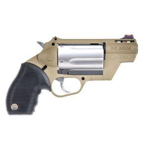 TAURUS PUBLIC DEFENDER FDE STAINLESS 410 BORE 45 COLT REVOLVER