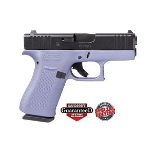 GLOCK 43X PURPLE ORCHID 9MM 10 ROUND PISTOL
