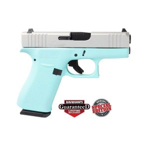 GLOCK 43X ROBINS EGG BLUE 9MM 10 ROUND PISTOL