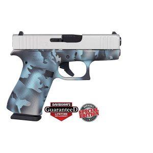 Glock 43X Sky Multi Camo Frame 9mm Pistol