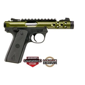 Ruger 2245 LT 22LR 4.4 Green Pistol