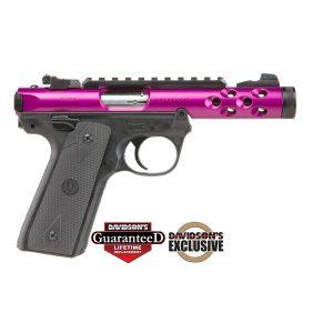 Ruger MKIV Purple 2245 Lt 22pst 4.4 Pistol