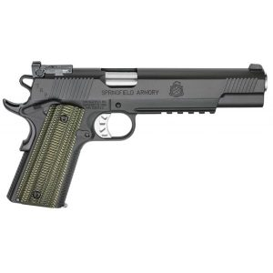 Springfield Armory 1911 TRP Single 10mm 6 8+1 Dirty Olive G-10 Grip